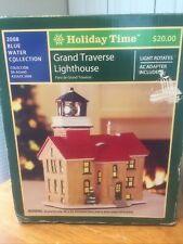 2008 Holiday Time Christmas Village Grand Traverse Lighthouse