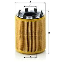 Mann HU713/1x Oil Filter Element Metal Free 83mm Height 65mm Outer Diameter