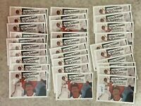 Upper Deck 1990 #20 Mike Schmidt - Philadelphia Phillies 30 Card Lot HOF
