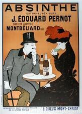 Absinthe J. Edouard Pernot Poster Fine Art Lithograph Leonetto Cappiello S2