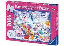 Ravensburger - Amazing Unicorns Glitter Puzzle 100 pieces * NEW jigsaw castle