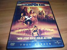 The Scorpion King (DVD, 2002, Full Frame) Michael Clarke Duncan,The Rock Used