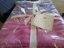 Pottery Barn Teen  Essential throw purple pink   45 X 60  New