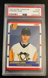 1990 Score Canadian JAROMIR JAGR Rookie PSA 10 Gem Mint QNTY Available