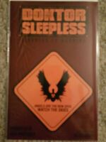 Doktor Sleepless #13  WARNING SIGN VARIANT COVER Avatar WARREN Ellis