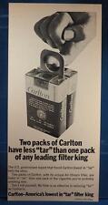 Vintage Magazine Ad Print Design Advertising Carlton Cigarettes