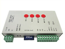A2ZWORLD CENTRALINA SPI MAGIC COLOR LED RGB CONTROLLER T1000S CON SD IC WS2801 W