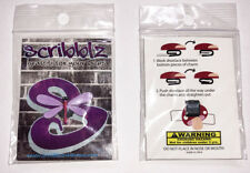 Dragonfly Shoe Lace Charms - Graffiti for your laces - New in package SB2015