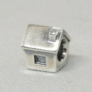 Authentic Pandora Moments House Home Charm/Bead Silver ALE 925 790115