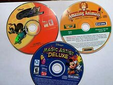 Lot of 3 Disney & Crayola games and software for kids!