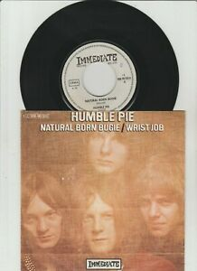 """7 """"  Humble Pie-Natural Born Bugie 7"""" PS-Made in Germany"""