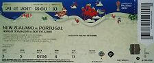 mint TICKET Confed Cup 24.6.2017 Neuseeland - Portugal # Match 10