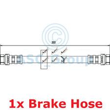 Apec BRAKING 222mm Disco Pinza de Freno Flexible Tubo Goma HOS3334