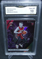 2019-20 Chronicles Tyler Herro Recon Rookie Card #294 GMA Graded Gem Mint 10