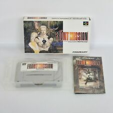 FRONT MISSION Super Famicom Nintendo sf