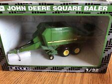 Ertl 1/32 Die Cast John Deere Square Baler Farm Toy