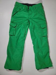 Aperture Green Snowboarding 10,000mm Waterproofing Pants Men's Size L
