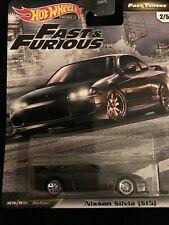 HOT WHEELS 2020 PREMIUM FAST & FURIOUS FAST TUNERS #2 NISSAN SILVIA (S15) NEW