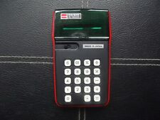 Sharp Elsi Mate EL-8005S 1970's Green LED calculator