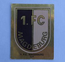 Panini Fussballsticker 1980 1.F.C. Magdeburg  Gold Wappen Fussballbild