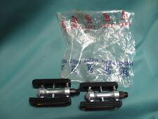 """Vintage SR Sakae SP 550 Pedals New NOS! 9/16"""" Japan 1980's"""