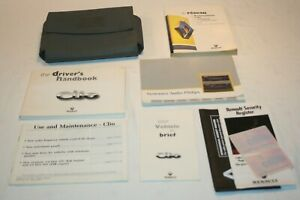 RENAULT CLIO MK1 OWNERS MANUAL / USER HANDBOOK WALLET, 1994-99, AUDIO MANUAL