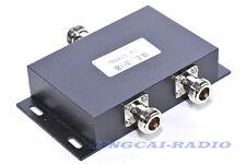 2 way VHF 136-174MHz antenna power splitter two way radio repeater power divider