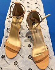 Michael Antonio Ramos Sandals Size 8.5 Nude Brand New Open Ankle Strap Shoes