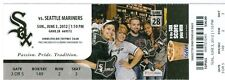 2012 White Sox vs Mariners Ticket: Chris Sale masters M's in 5-hitter/ Olivo HR