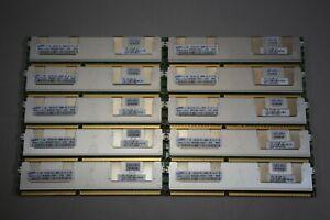 10 Samsung 4GB Server Shielded RAM Memory Sticks 2Rx4 PC3-10600R Free Ship
