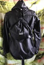 Bnwt G-STAR RAW Black Srett Hod Overshirt with Backpack Size S