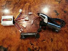 Razor E300 Variable Speed Kit - upgraded throttle, controller WITH BUILT IN KEY!