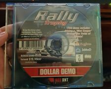 RALLY TROPHY DEMO DISC (disc only) -PC GAME- FREE POST