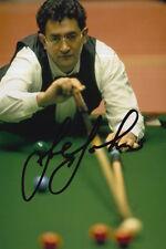 Joe Johnson mano firmado 6X4 Snooker Foto prueba 1.