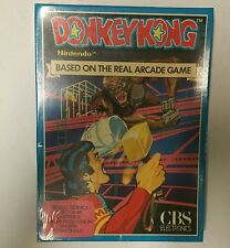 NEW FACTORY SEALED DONKEY KONG GAME INTELLIVISION RARE CBS WITH HAMMER IN HAND