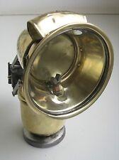 "Antique German  BRASS CARBIDE ACETYLENE bicycle lamp "" Radsonne"""