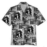 THE THREE STOOGES Vacation Hawaiian Camp Shirt  - BRAND NEW - CLEARANCE SALE!