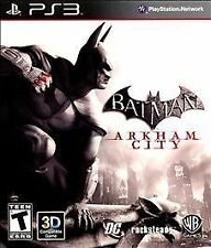 Sony Playstation 3  Ps3  4 Psn  batman arkham city + assassin creed and pc games