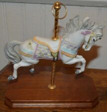 Carousel Horse on wooden base