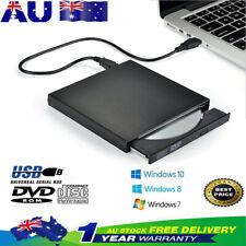 USB External DVD CD RW Disc Burner Combo Drive Reader Windows 98/8/10 Laptop PC