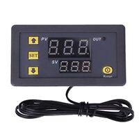 2X(W3230 12 V Digitaler Temperatur Regler Thermostat Steuer Schalter Sensor T4W