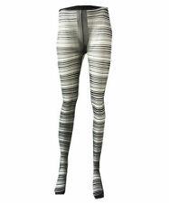 Gestreifte Damenstrumpfhosen aus Polyester