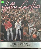 The Hollies - Live Hits - 1976 Vinyl LP - Polydor 2383 428 - EX CON