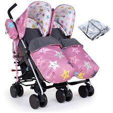 Cosatto Supa Dupa Twin Pushchair Stroller