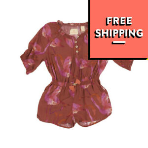 SCOTCH & SODA AMSTERDAM COUTURE Playsuit Size 4Y Flamingo Pattern