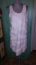 J CREW, white sleeveless short dress, size 12
