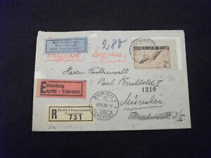 """Schweiz  """" Luftpostbrief """""""