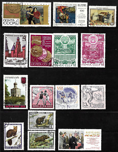 Russia & Soviet Union .. 2 Pages of exciting postage stamps .. 5028