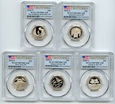2020 S Clad State National Parks Quarter Set PCGS PR70DCAM First Strike