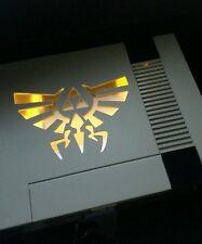 Nintendo NES Console + 2 Controllers + Zelda Game Bundle - Custom